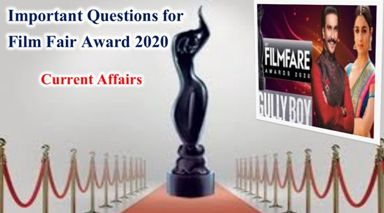 Filmfare Award 2020 Important Questions