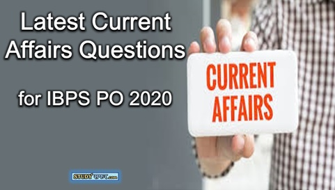Latest Current Affairs Questions