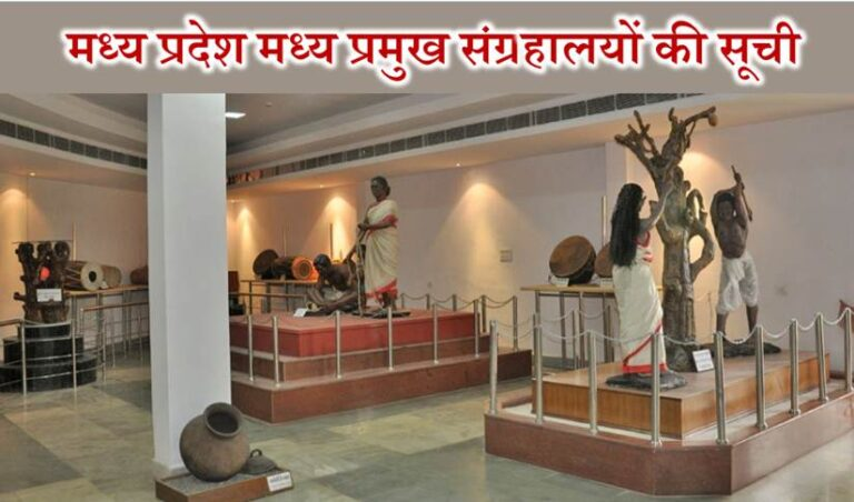 List of Famous Museum in Madhya Pradesh in Hindi