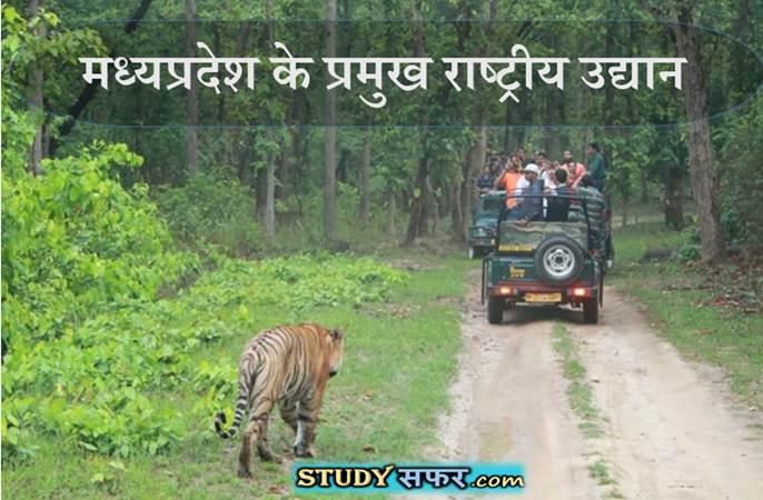 Madhya Pradesh ke Pramukh National Park