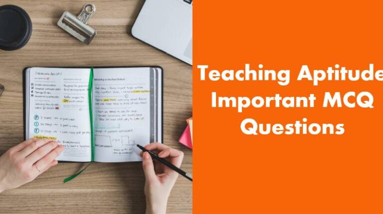 Teaching Aptitude Questions In Hindi