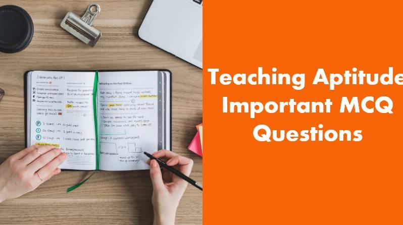 Teaching Aptitude Questions In Hindi