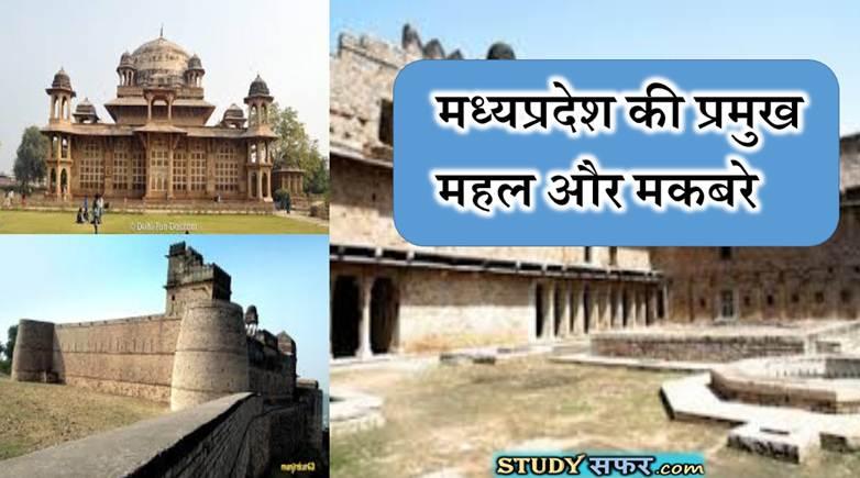 MP GK : मध्य प्रदेश के प्रमुख समाधि स्थल एवं मकबरे