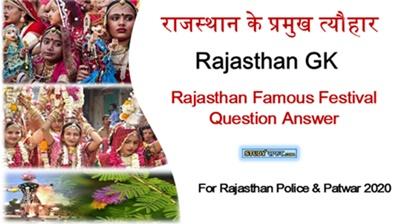 Rajasthan ke Tyohar