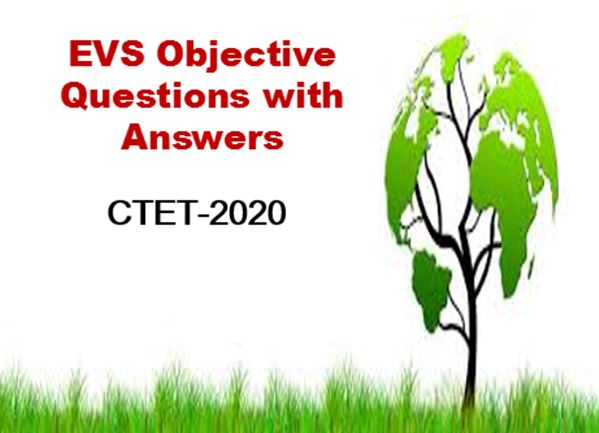 EVS Objective Questions
