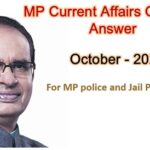 MP Current Affairs Questions