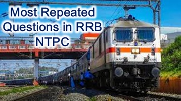 Railway NTPC GK Most Repeated Questions