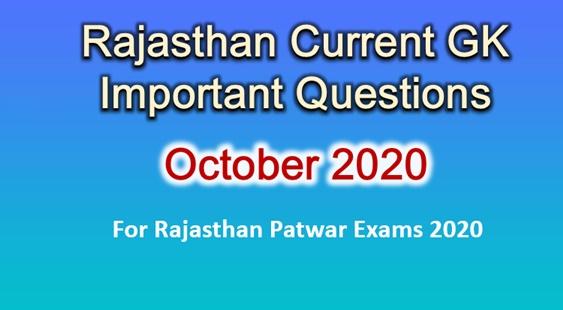 Rajasthan Current GK