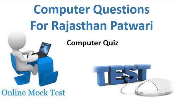 Patwari Computer Questions