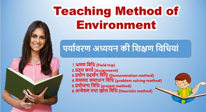 REET 1st Level Environment Notes in Hindi