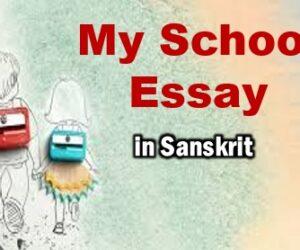 Essay on My School in Sanskrit for Class 10
