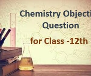 12th Chemistry Objective Questions and Answers