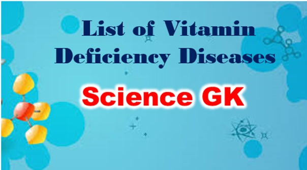 List of Vitamins and their Functions pdf in Hindi