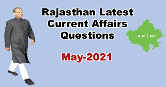 Rajasthan Current Affairs 2021 in Hindi pdf Download