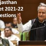 Rajasthan Budget 2021 Qestions