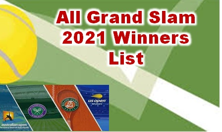 Tennis Grand Slam 2021